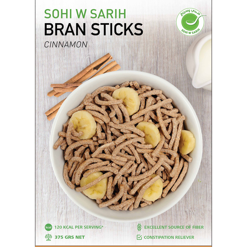 Bran Sticks - Cinnamon